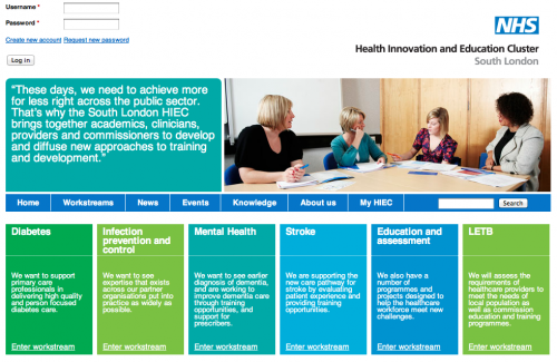 CiviCRM - South London Health Innovation and Education Cluster