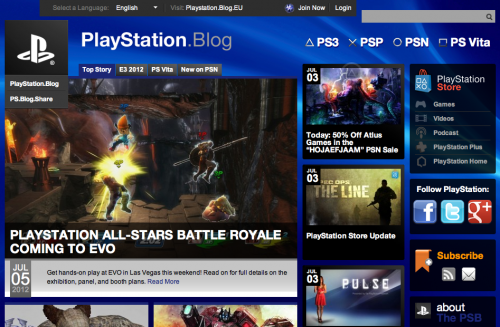 WordPress - PlayStation Blog