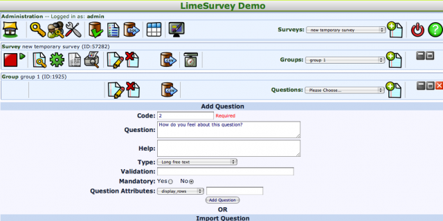 LimeSurvey Featured Image