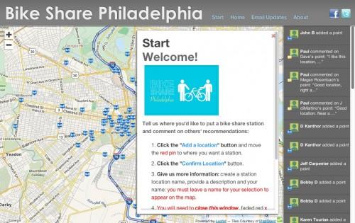 Shareabouts Philadelphia