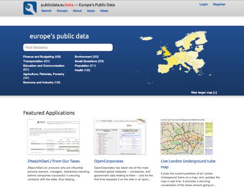 CKAN - publicdata.eu