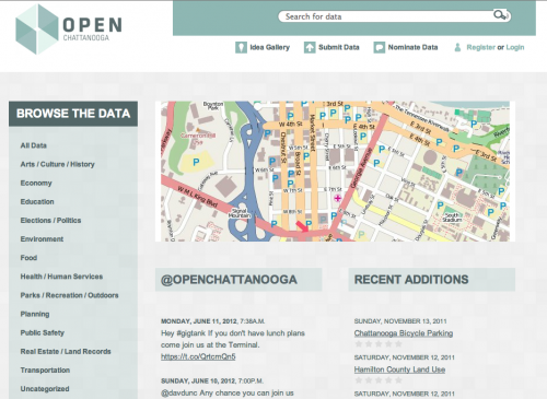 Open Data Catalog - Chattanooga