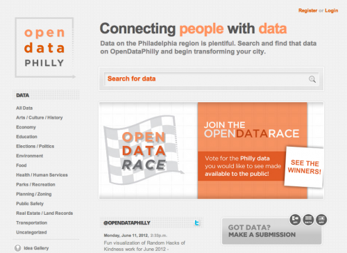 Open Data Catalog - Philadelphia