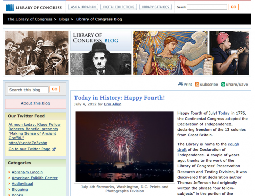 WordPress - Library of Congress