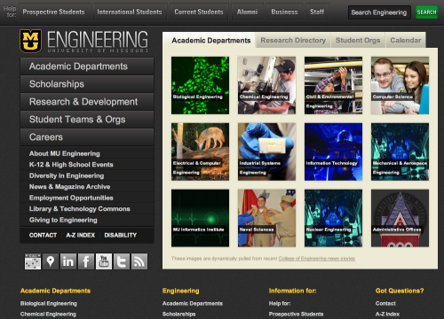 WordPress - University of Missouri College of Engineering
