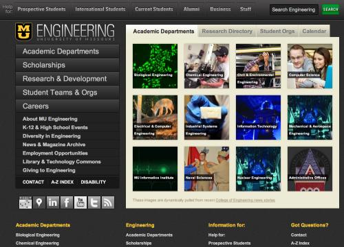 WordPress - University of Missouri College of Engineering
