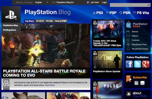 WordPress - PlayStation Blog